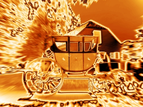 Photo by John K ~ The Semperor's carriage (inspired by the photography of Michael Leacher)