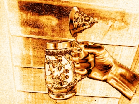 Photo by John K ~ Punch (inspired by the photography of Michael Leacher)