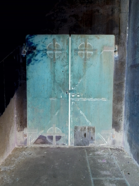 Photo by John K ~ Storied door (inspired by the photography of Michael Leacher)
