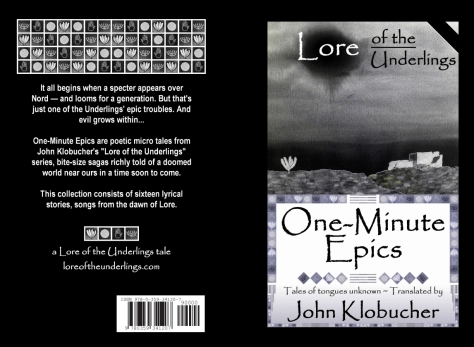 One-Minute Epics - print cover